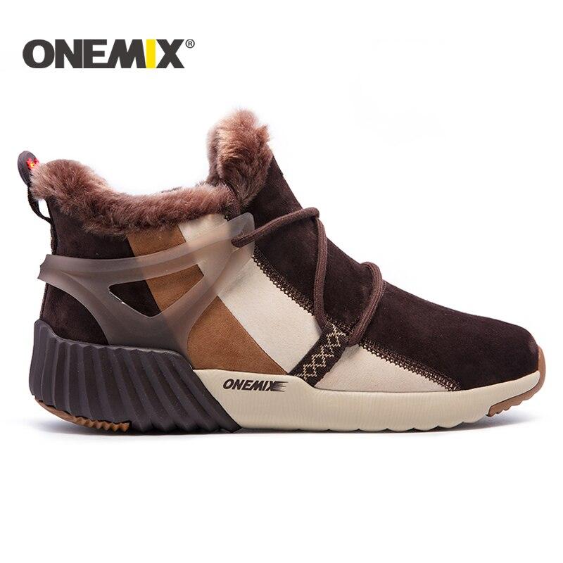 ONEMIX nye vinter løbesko behagelig mænds støvler støvler - Kondisko - Foto 3