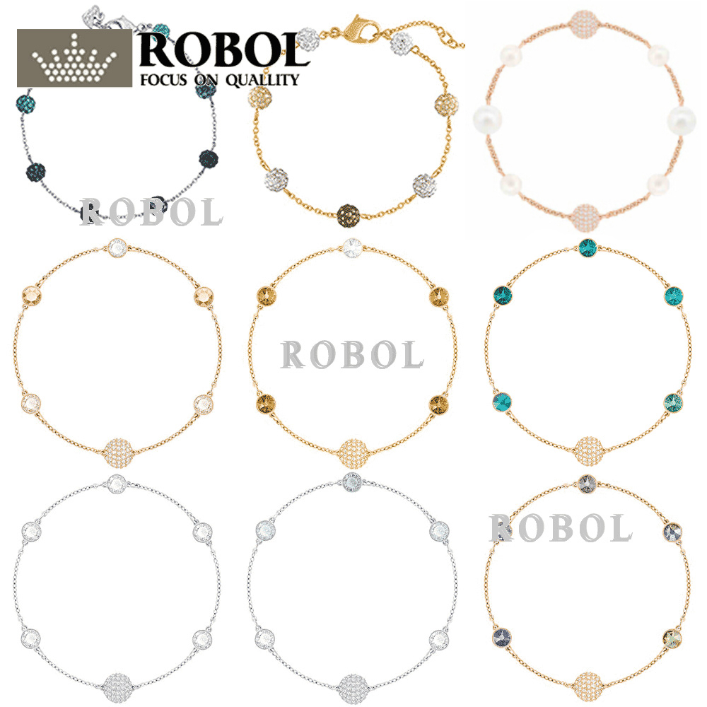 b4a56f649c52 Comprar ROBOL de alta calidad Swa Original pulseras joyería de las mujeres  haciendo para las mujeres al por mayor marca las 11 producción Envío Gratis  para ...