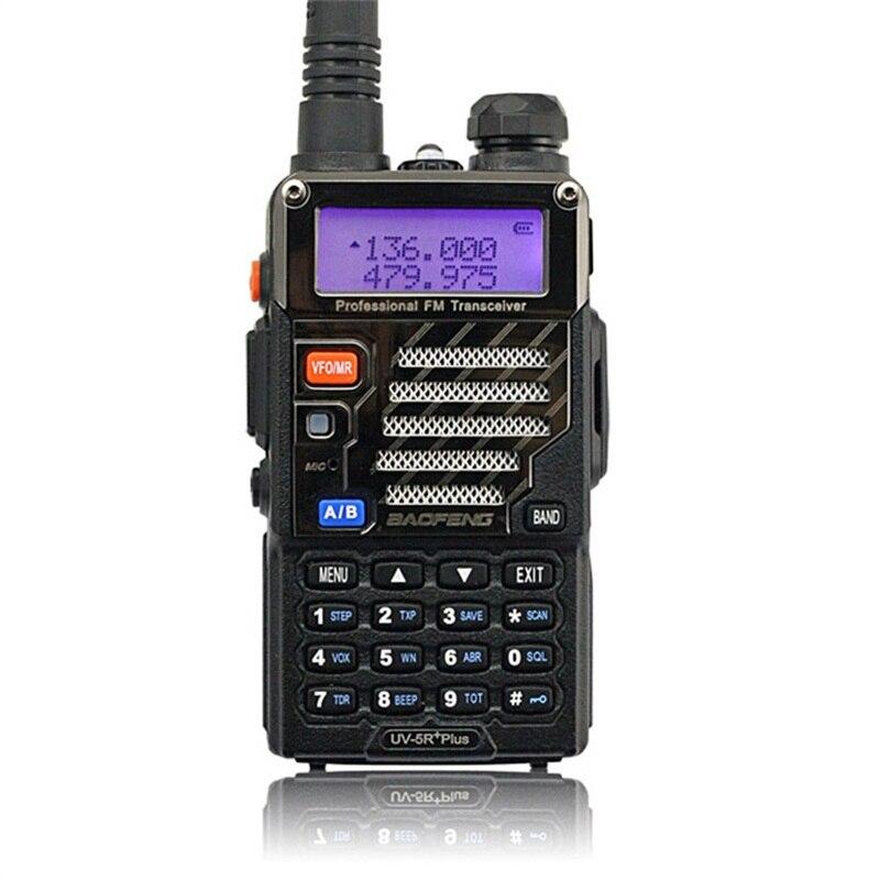 BAOFENG UV-5R Plus Walkie Talkie Dual Band 136-174Mhz/400-520Mhz  UV5R Portable Handheld Two Way Radio Receiver
