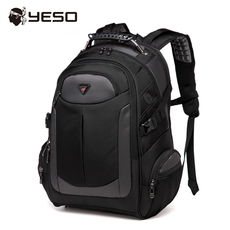 YESO Brand Men Laptop Backpack 2018 Spring New Design School Bag For Teenagers Waterpoorf Travel Bag
