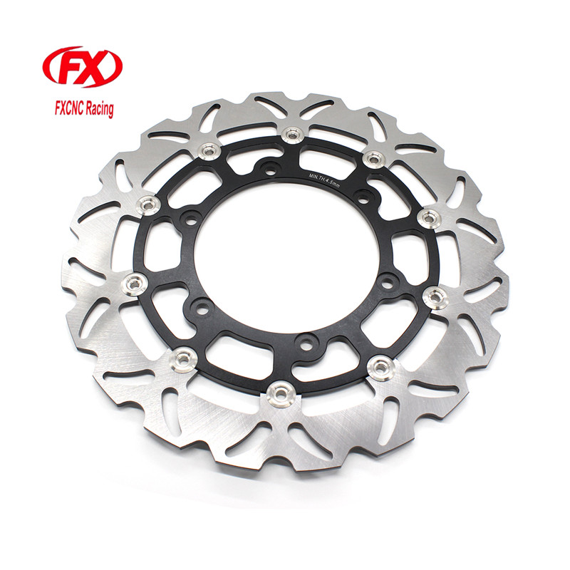 FX CNC Motorcycle Brake Disks Front Brake Disc Rotor For Yamaha YZF R1 XV 1900 A VMX12 V-Max Front XJ N RJ01 H810 600CC fxcnc motorcycle brake disc 300mm floating front brake disc rotor for yamaha yzf r15 2015 motorbike front brake disc rotor