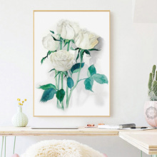 Canvas Print Art Pictures Wall Painting Beautiful Flower Home Decor New Modern On No Frame