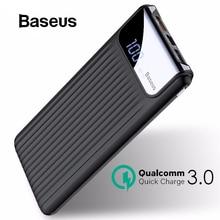 Baseus 10000mAh Quick Charge 3.0 Power Bank Dual USB LCD Pow