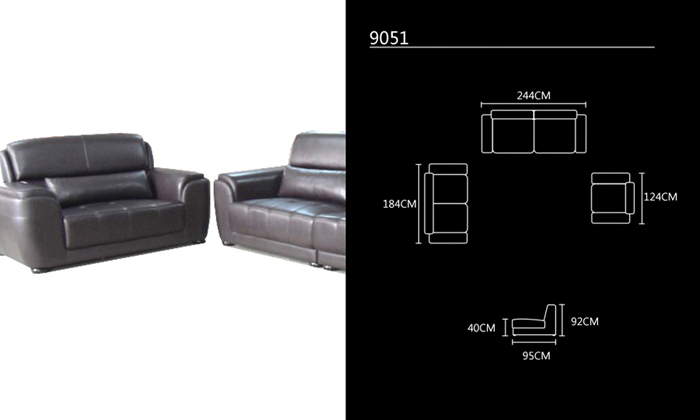 Aliexpress Buy Free Shipping Living Room Sets New Design Classic 123 Large Size Modern Leather Sofa Set High Back Chair Love Seat And From