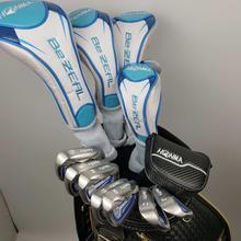 Ferros de golfe honma bezeal 525 clubes de golfe com eixo de golfe grafite l flex (sem saco) frete grátis