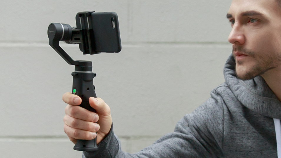 Capture 3-Axis Handheld Gimbal Stabilizer Face tracking Motorized Steadycam for iPhone X Samsung S8 Huawei P Pro 6