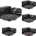 Hot Moda de Metal óculos de Sol Reflexivos Homens Sports óculos de Sol Óculos Ao Ar Livre Óculos Quadrados Óculos De Sol Gafas De Sol