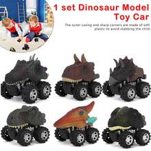 6 styles Children's Day Gift Toy Dinosaur Model Mini Toy Pull Back Car Truck Hobby Funny birthday gift for kids аккумулятор для ноутбука pitatel bt 161b