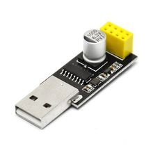ESP01 Programmer Adapter UART GPIO0 ESP-01 Adaptaterr ESP8266 USB to ESP8266 Serial Wireless Wifi Developent Board Module