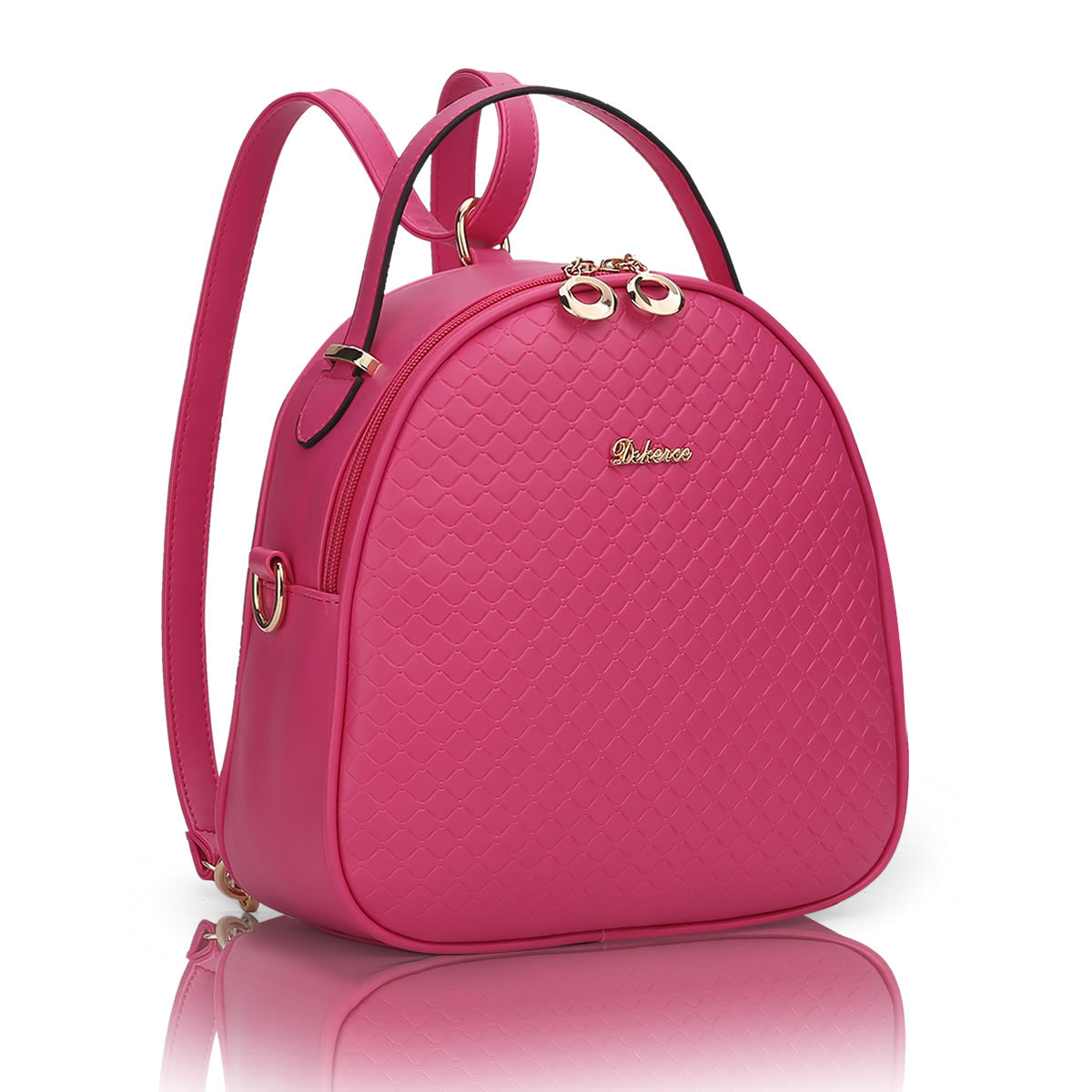475fb6a7648 High Quality 2017 New Female Backpack PU Leather Shoulder Bag School  Student Cute Tote Bag Girls Fashion Bags Feminina Mochilas-in Backpacks  from Luggage ...