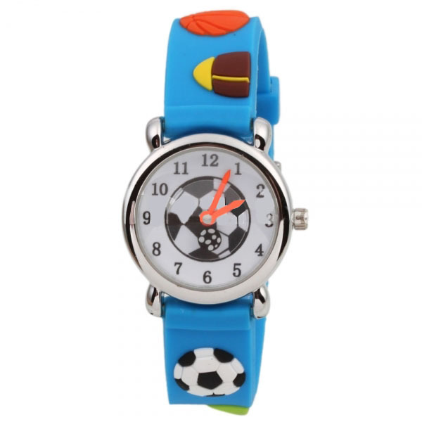 Children's Watches 2019 Fashion Kids Watches Children Silicone Wristwatches Football Brand Quartz Wrist Watch Baby For Girls Boys Fashion Casual Reloj