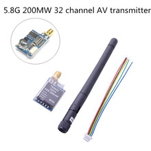 5.8G 32CH 200MW FPV Channel AV Transmitter camera wireless rc Transmision TX TS5823 for DJI Phantom QAV250 Mini Quadcopter