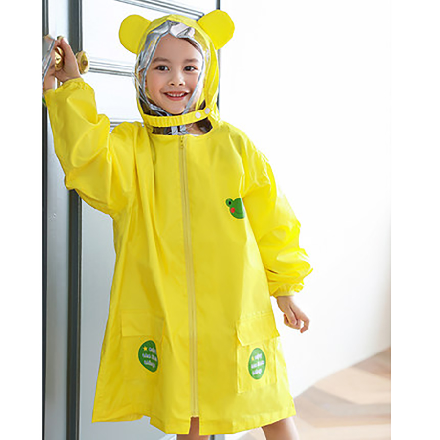 Cartoon Raincoat Women Waterproof Outdoor Cover Rain Coat Kids Suit Ladies Cartable Garcon Primaire Children Raincoat 50KO133 in Raincoats from Home Garden