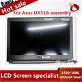 """Оригинал 100% тест Для Asus UX31A ЖК-Экран ассамблеи 40 Pin 13.3 """"1920*1080 Испытанное Хорошее с сенсорным с бесплатный инструмент"""