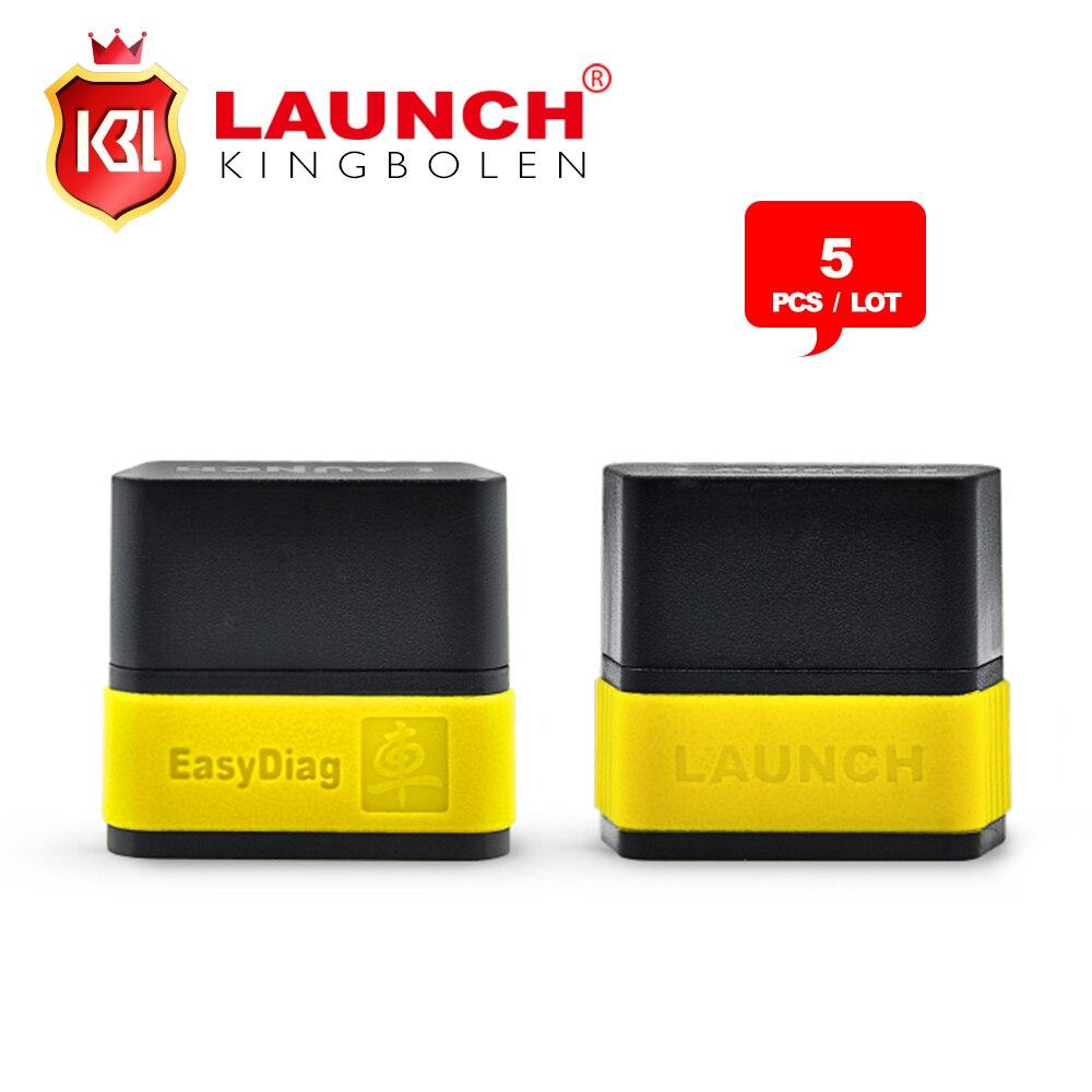 Prix pour 5 pcs original launch easydiag 2.0 pour android/ios 2 en 1 outil de diagnostic launch x431 easydiag facile diag mise à jour par launch site web