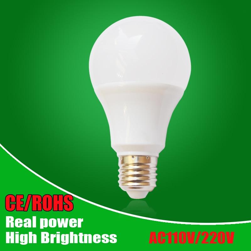 Wholesale Led Bulbs SMD5730 E27 B22 3W 5W 7W 9W 12W 15W 18W LED Lamps 110V 220V 240V Light Bulb For Home Led Spotlight Lamps canmeijia leds lamp 110v 220v rechargeable emergency led light bulbs 5w 7w 9w 12w led battery lights bulb e27 lamps lighting