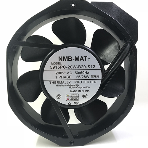Metal frame 200V High temperature resistance 5915PC-20W-B20 NMB cooling fan cpu cooling conductonaut 1g second liquid metal grease gpu coling reduce the temperature by 20 degrees centigrade