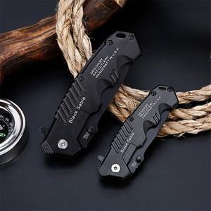 Image 4 - Folding Knife tactical  Survival Knives Hunting Camping Blade edc multi High hardness military survival knife pocket
