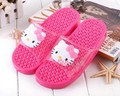 Hello kitty PVC hollow Water Leakage anti-skid slippers  Cartoon lovers Indoor and outdoor can be used
