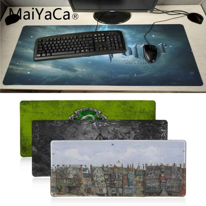 MaiYaCa Novo Design harry potter comic Grande tapete de Borracha Natural Do Mouse pad PC Computador Gaming mousepad Mat Mesa muismat gaming