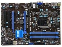 original motherboard for MSI Z77A-G41 LGA 1155 DDR3 for i3 i5 i7 cpu 32GB USB3.0 SATA3 Z77 Desktop motherboard Free shipping