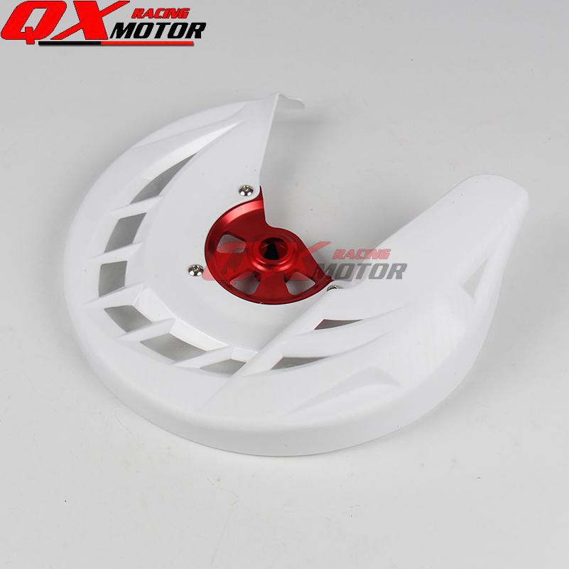 Motorcycle Front brake disk protective cover For CR125 CR250 CRF250R CRF450R MX Motocross Off Road Motorcycle Free shippng motorcycle front rider seat leather cover for ktm 125 200 390 duke