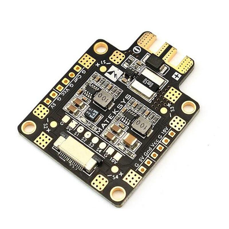 High Quality Matek FCHUB-6S Hub Power Distribution Board 5V & 12V BEC Built-in 184A Current Sensor For RC Multicopter matek mini power hub power distribution board with bec 5v