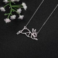 цена на My Shape Lovely Jewelry Rabbit Penguin Snake Lion Multiple Animal pendant Chokers Necklace For Women Girls Gift