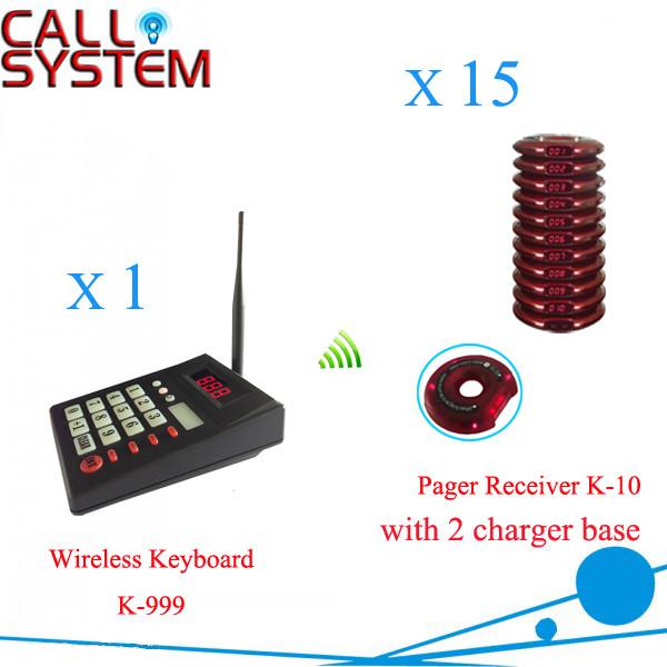 K-999 K-10 1+15 Wireless queue calling system