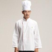 Fashionable Unisex Chef's Uniform,Breathable Fabrics,Chef Jackets Chef Kitchen Short Sleeve Work Wear Chef service Red edging