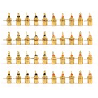 Areyourshop 40 Pcs Gold Plated RCA Phono Chassis Panel Mount Female Socket Adapter