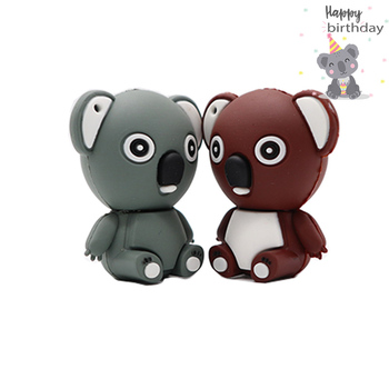 Cartoon bear baby pendrive 4GB 16GB 32GB 64GB usb 2.0 flash drive memory stick pen fashion gift Free shipping 2019 hot