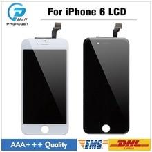 20 pcs/lot AAA + Qualité LCD Affichage Pour iPhone 6 6G Digitizer Écran Tactile de remplacement top qualité Noir Blanc(China)