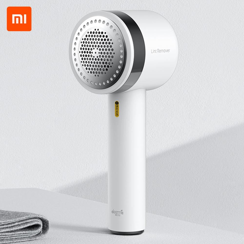 New Xiaomi Deerma Portable Lint Remover Hair Ball Trimmer Sweater Remover 7000r/min Motor Trimmer Concealed sticky Hair Tube(China)