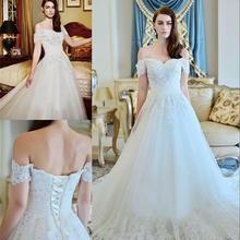 XGGandXRR N615 Romantic A-Line Wedding Dress 2018 Beading