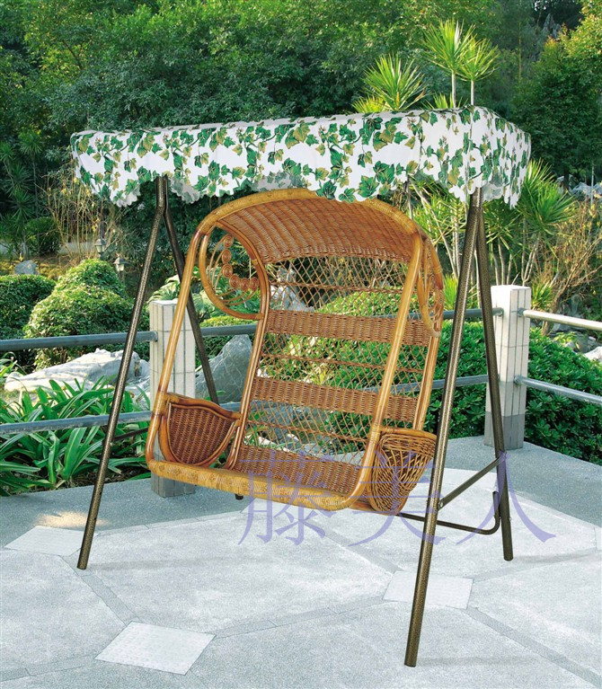 Rattan double lift hanging basket balcony rattan chair coffee table piece set sierran folding chaise lounge office chair