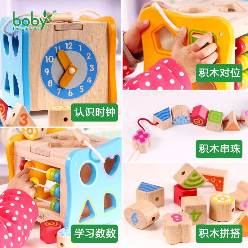 Baby Toys For Children Wooden Classic Wooden Multi Shape Sorter