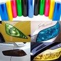 """Luz do carro 12 Cores 30 cm x 100 cm 12 """"X 40"""" filme Lanterna Traseira de Nevoeiro Luz Do Farol Tint Vinyl Film Folha da Etiqueta Etiqueta Venda Quente"""