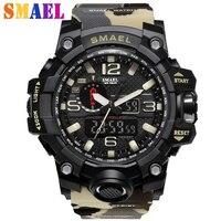 Новые шок цифровой аналоговые часы мужчины женщины LED электронные день 50 м погружения армии г Тип спортивные часы Relogio feminino