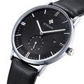 2016 Ultra fino Top marca japão relógio de quartzo Casual analógico Sports Watch homens de negócios relógio Masculino presente