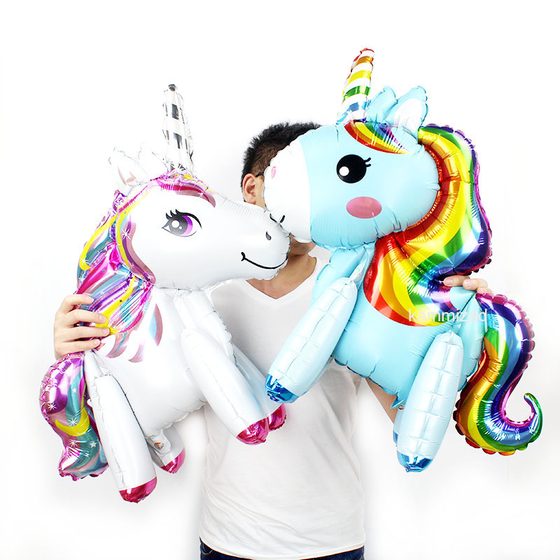 Festive & Party Supplies Home & Garden Impartial Kammizad 10pcs 23 Unicorn Balloon Unicorn Theme Party Air Fill Balloons Photo Prop Table Prop Unicorn Birthday Party Supplies To Assure Years Of Trouble-Free Service