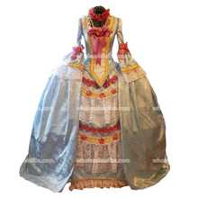 Marie Antoinette French Colonial Beethoven Waltz Venice Masquerade Versailles Ball Mardi Gras Panniers Dress Gown