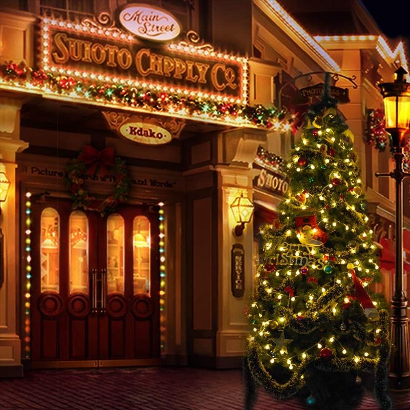 3 м, 6 м, 10 м, водонепроницаемая сказочная гирлянда, светодиодный шар, декоративные гирлянды для рождественской елки, свадьбы, дома, внутреннего украшения