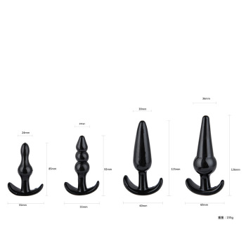 Size Beginner's anal plug black box