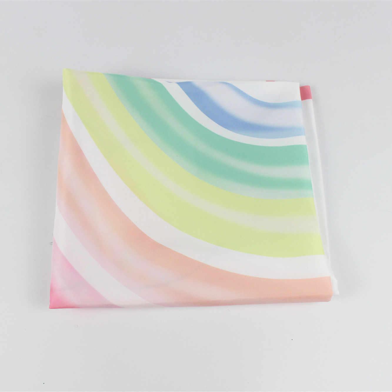 Protetor para fotografia de arco-íris, cobertor para fotografia de 100x100cm, pano de fundo para calendário infantil, acessórios para meninos e meninas