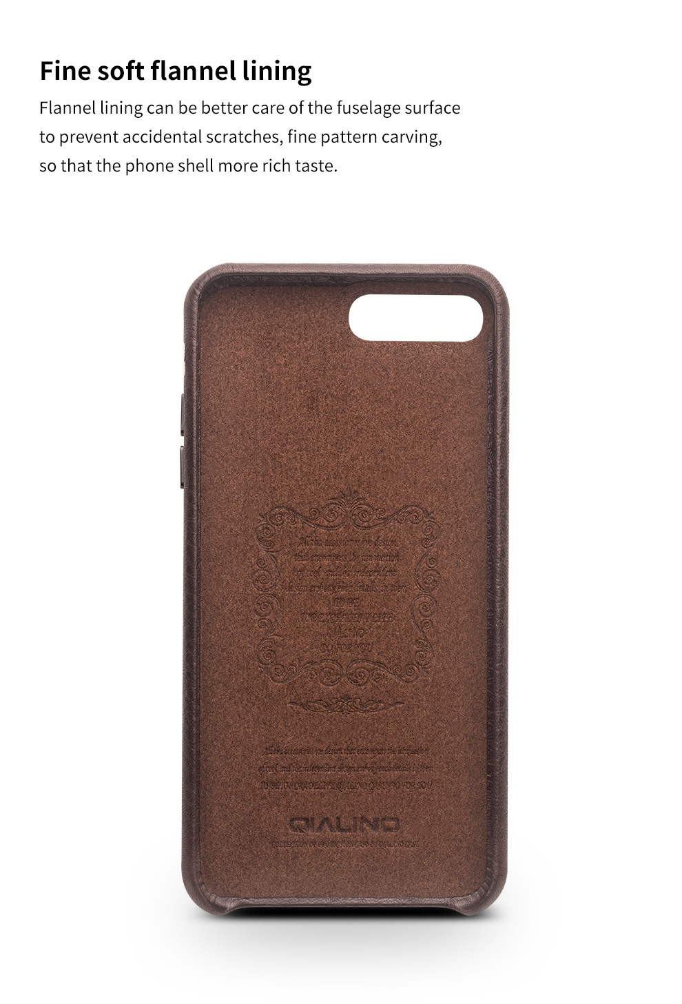 Slim Brown Genuine Phone 10