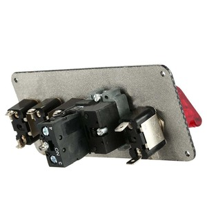 Image 4 - 12V araba kontak anahtarı için Push Button Start basma düğmesi motor çalıştırma basma düğmesi 3 geçiş yarış paneli Dropshipping