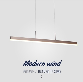Dimmable Linear Architectural LED Luminaire / Slim And Discreet Aluminum Body / PMMA Shade Diffuser
