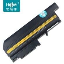 HSW Battery For Lenovo For IBM T42 R52 battery T41 T40 T43 R51 R50e laptop computer battery