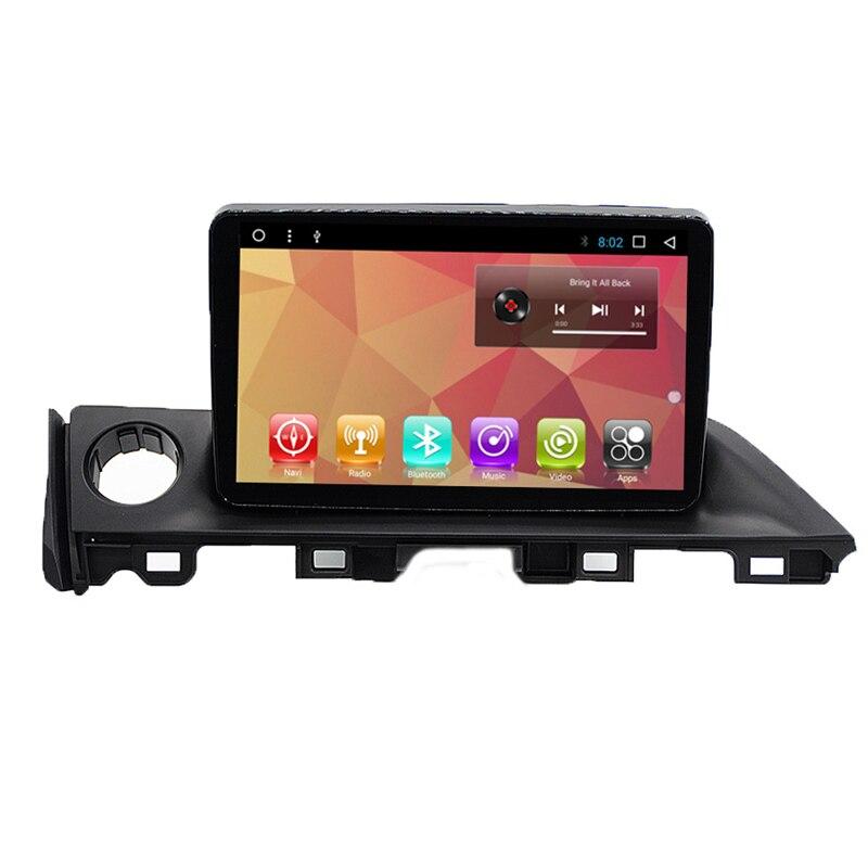 9 Android Autoradio Car Multimedia Stereo GPS Navigation DVD Radio Audio Sat Nav Head Unit for Mazda 6 Atenza 2016 2017 2018
